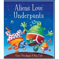 Aliens Love Underpants in French & English by Claire Freedman