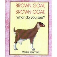 Kabrit Mawwon / Brown Goat What do you see? by Marika Roumain in English & Creole