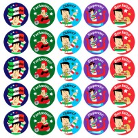 Children's Italian Praise Stickers