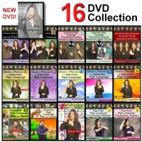 16-DVD Complete American Sign Language DVD Library