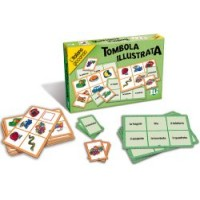 Tombola Illustrata Game Italian Game for Kids
