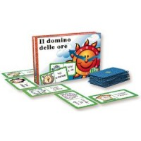Il Domino Delle Ore Game - Italian Game for Kids, Classrooms