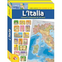 L'Italia Puzzle Game - Italian Puzzle Game for Kids, Classrooms
