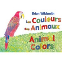 ANIMAL COLORS board book in Haitian-Creole & English