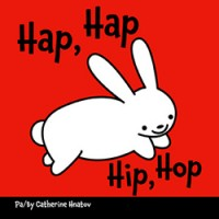Hip, Hop board book in Haitian-Creole & English