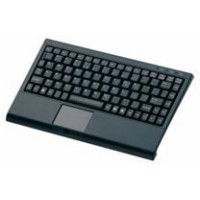 Keyboard with Bluetooth and built-in touchpad KB-3962B-BT