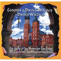 Legend of the Two Brothers and Two Towers in Polish, German and English