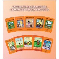 Good Citizen Collection Pre-K set of 10 Books in Haitian Creole