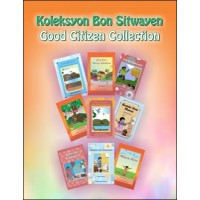 Good Citizen Collection Pre-K to 3rd Grad - Set of 20 Books in Haitian Creole