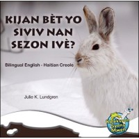 Kijan Bèt yo Siviv nan Sezon Ivè/ What Do Critters Do in the Winter? by Julie K. Lundgren