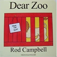 Dear Zoo in French & English Board book