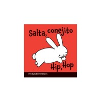 Hip, Hop board book in Spanish & English