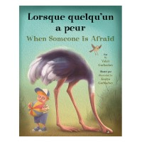 When Someone is Afraid in French & English (paperback)