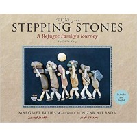 Stepping Stones: A Refugee Family's Journey in Arabic & English HB