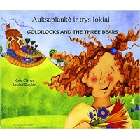Goldilocks & the Three Bears in Lithuanian & English (PB)
