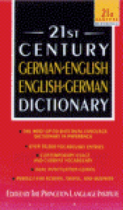 Random House - The 21st Century German to and from English Dictionary