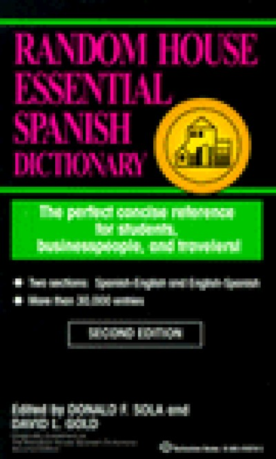 Random House Spanish - Essential Spanish Dictionary