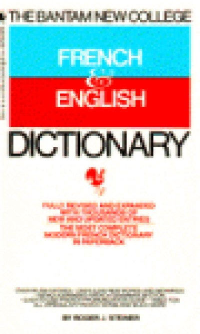 Random House French - Bantam New College French and English Dictionary