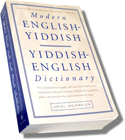 Modern English-Yiddish / Yiddish-English Dictionary