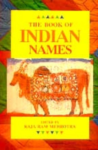 Book of Indian Names (Paperback)