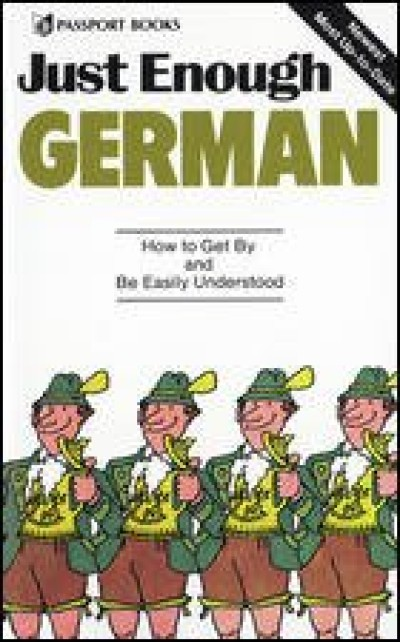 McGrawHill German - Just Enough German