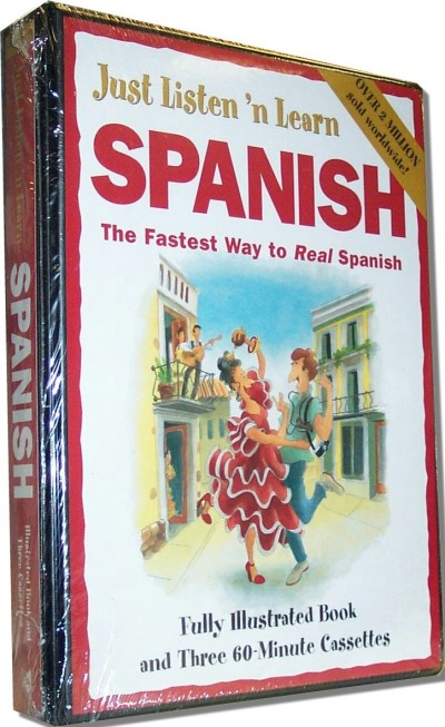 Just Listen 'N Learn Spanish (Paperback and Audio Tapes)