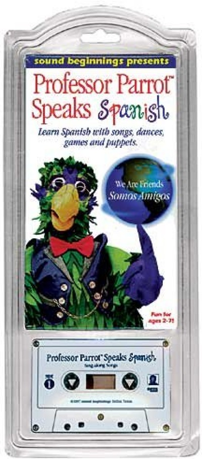 Spanish - Professor Parrot Speaks Spanish (Audio-Cassette and VHS)
