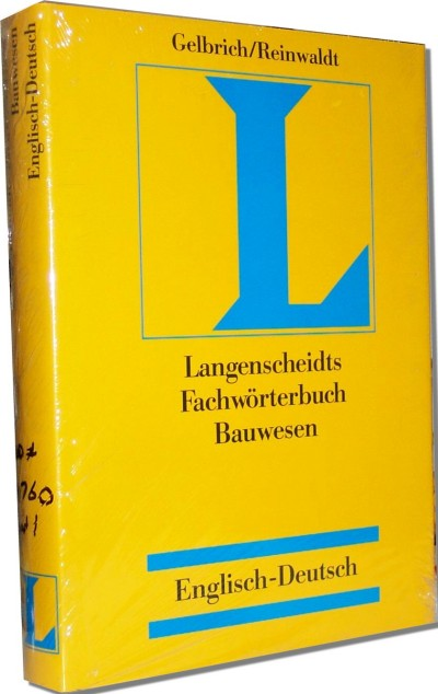 Langenscheidt - Dictionary Of Building & Civil Engineering - Eng->German (I)