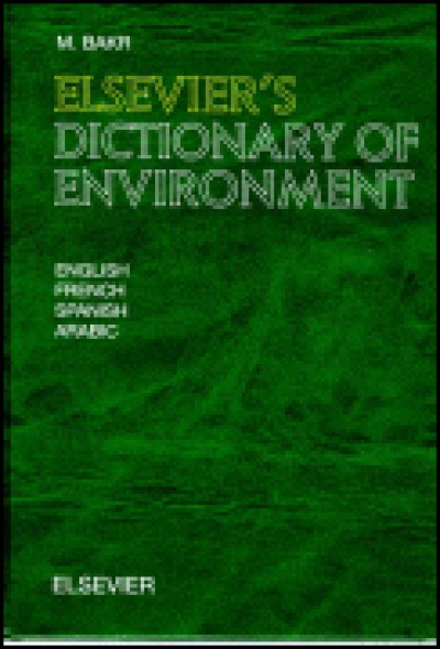 Elsevier Dictionary of Environment