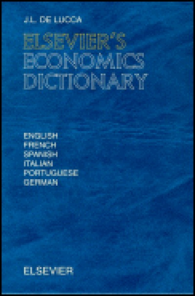 Elsevier Economics Dictionary