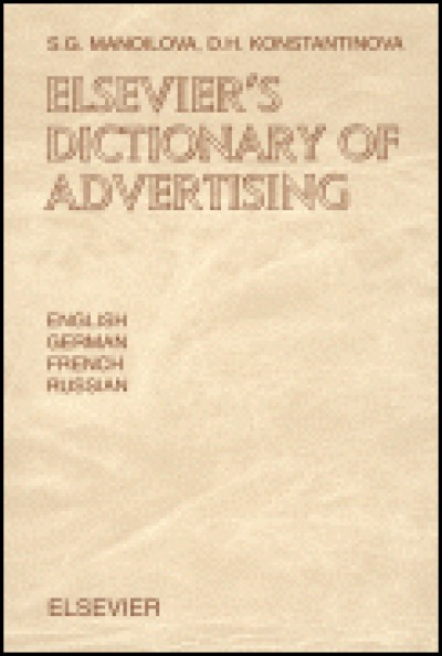 Elsevier Dictionary of Advertising