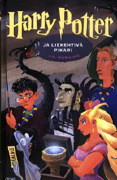 Harry Potter in Finnish [4] Harry Potter ja liekehtivä pikari