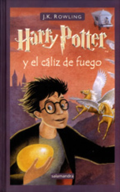 Harry Potter in Spanish [4] Harry Potter y el c�liz de fuego (IV)
