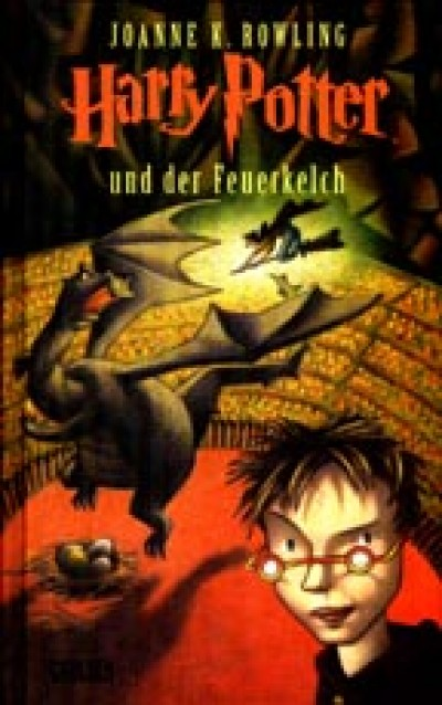 Harry Potter in German [4] Harry Potter und der Feuerkelch (IV) (Hardcover)
