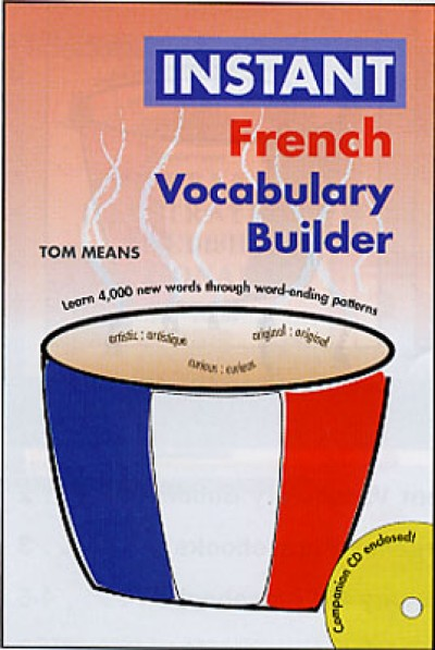 Hippocrene - French, Instant Vocabulary Builder with CD