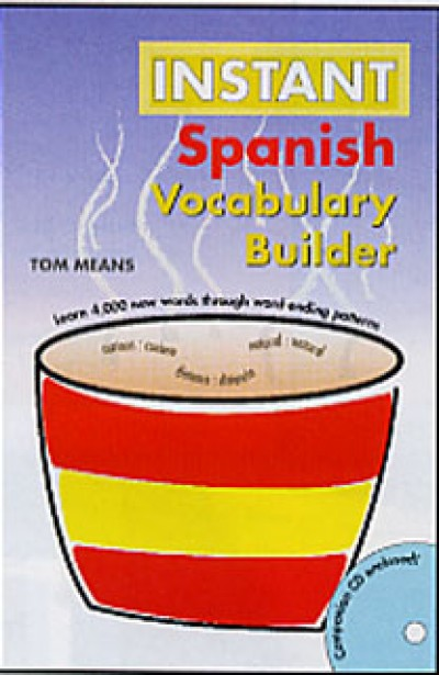 Hippocrene Spanish - Instant Spanish Vocabulary Builder (w/ Audio CD)