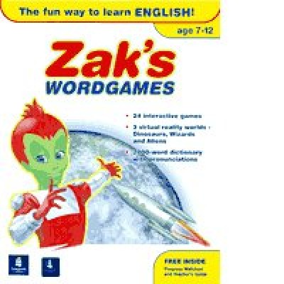 Longman - Zak's Wordgames (American English)