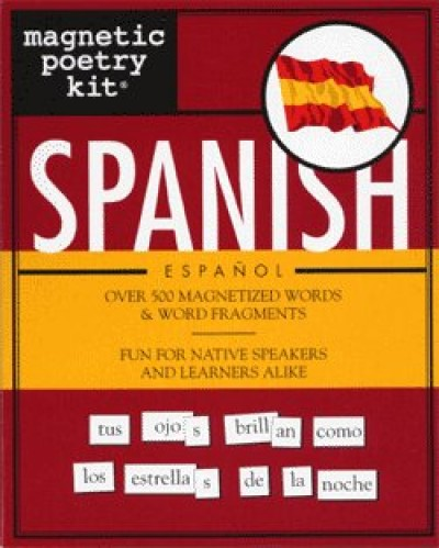 Magnetic Poetry Kit - Spanish