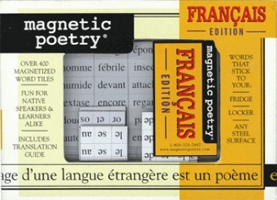 Magnetic Poetry Kit - French