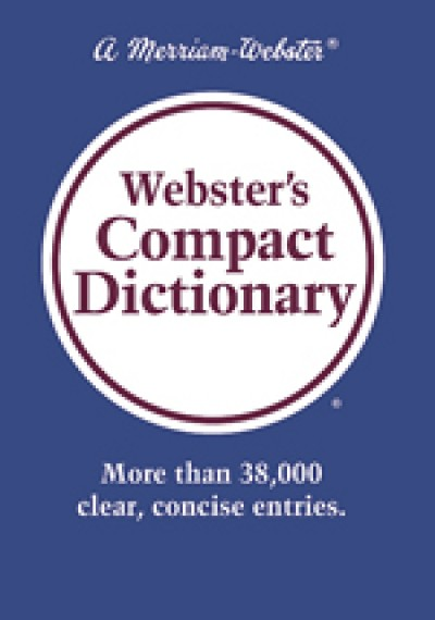 Webster's Compact Dictionary (Hardcover)