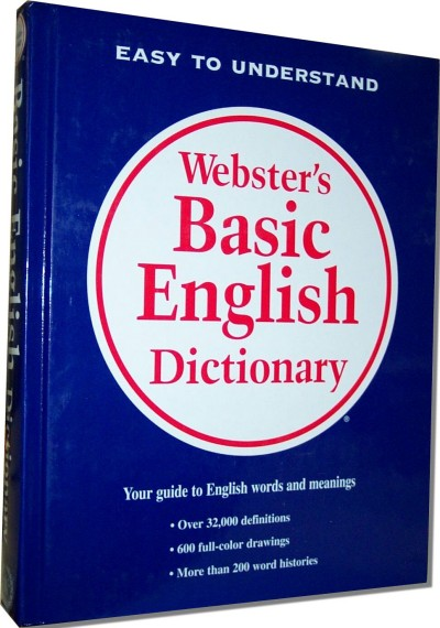 Webster's Basic English Dictionary (Hardcover)