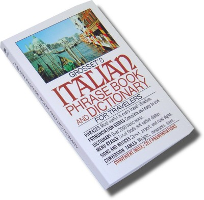 Grosset's Italian Phrase Book and Dictionary for Travelers (Paperback)