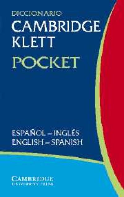 Cambridge Spanish - Diccionario Klett Pocket Espanol to