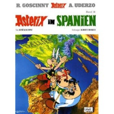 Asterix In Spanien (Hardcover)