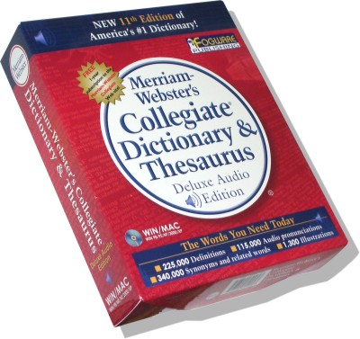 Merriam-Webster's Collegiate Dictionary, 11th Edition (Hardcover)