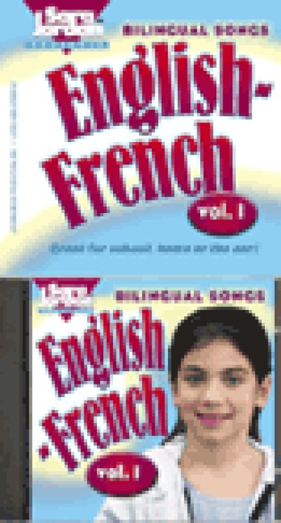 French - Bilingual Songs - English /French - Vol. 1 (Audio Tape & Book)