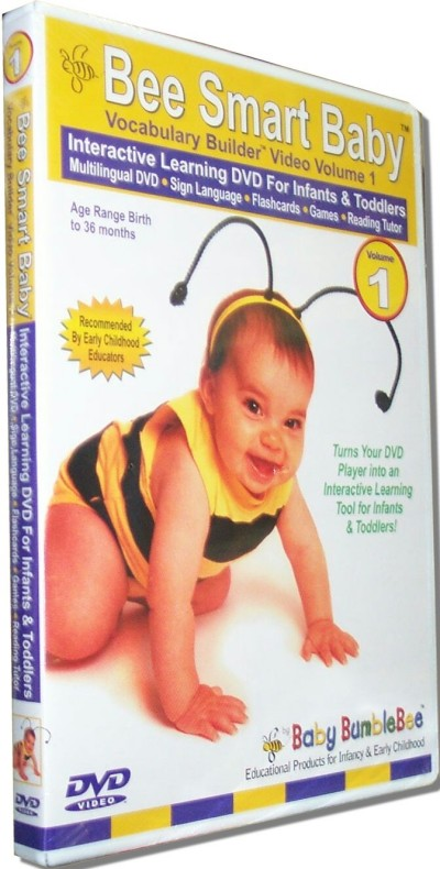 BumbleBee - BeeSmartBaby - Vocabulary Builder Vol.1 (DVD)