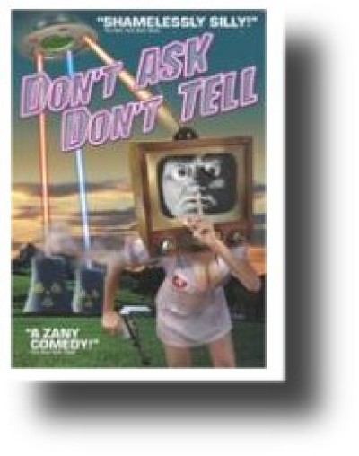 DON'T ASK DON'T TELL - ATTACK OF THE GAY SPACE INVADERS! - DVD
