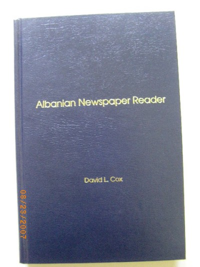 Albanian Newspaper Reader (Hardcover) Book only