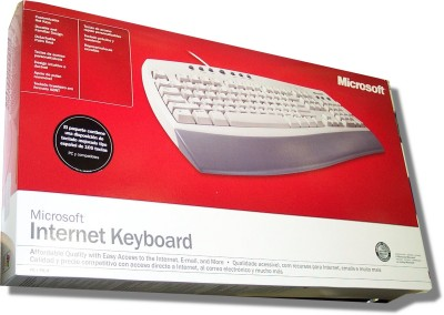 Keyboard for Spanish - Microsoft Internet Keyboard (PS-2)
